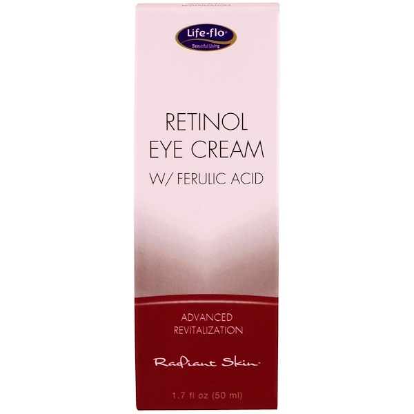 Life-flo, Retinol Eye Cream with Ferulic Acid, 1.7 fl oz (50 ml)