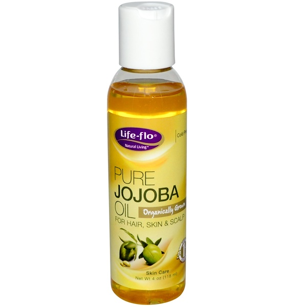 Life Flo Health, Pure Jojoba Oil, Skin Care, 4 oz (118 ml)