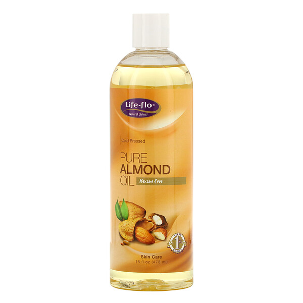 Pure Almond Oil, Skin Care, 16 fl oz (473 ml)