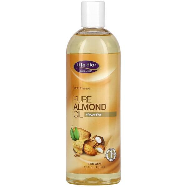 Pure Almond Oil, 16 fl oz (473 ml)