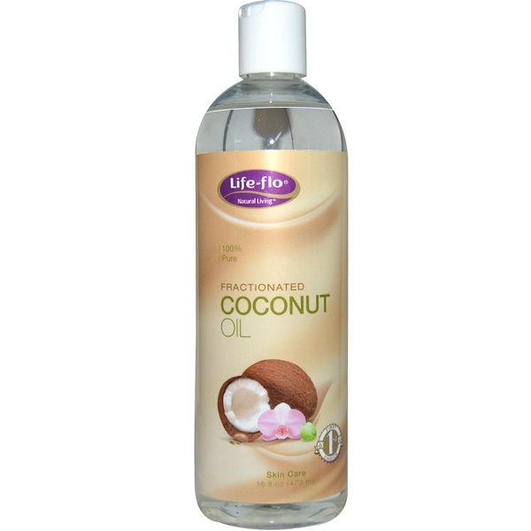 Life-flo, Fractionated Coconut Oil, 16oz Liquid