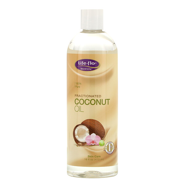 Fractionated Coconut Oil, 16oz Liquid