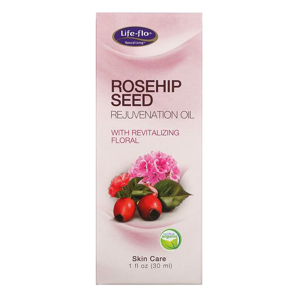 Huile rajeunissante à l'églantier et la revitalisation florale, 1 fl oz (30 ml)