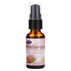 Лайф Фло Хэлс, Rosehip Seed Rejuvenation Oil with Revitalizing Floral, 1 fl oz (30 ml) отзывы покупателей