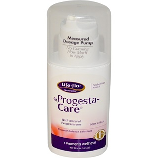 Life Flo Health, Progesta-Care, Body Cream, 4 oz (113.4 g)