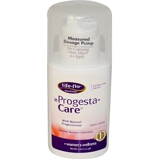 Life-flo, Progesta-Care, Body Cream, 4 oz (113.4 g)