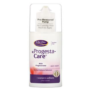 Life-flo, Progesta-Care,身体霜,4盎司(113.4克)
