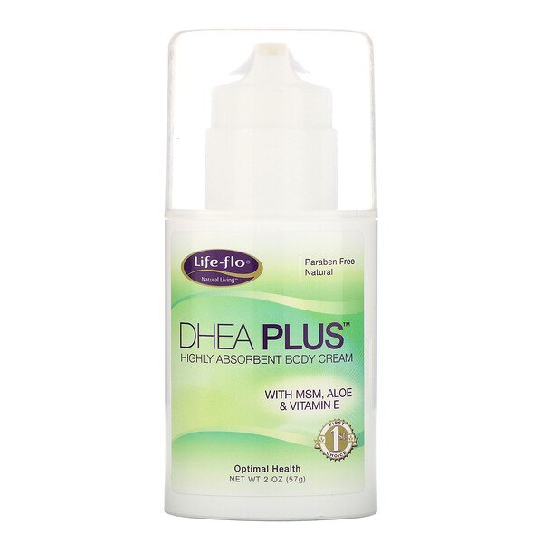 DHEA Plus, Highly Absorbent Body Cream, 2 oz (57 g)