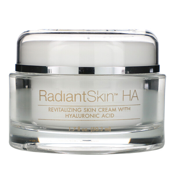Radiant Skin HA, Revitalizing Skin Cream with Hyaluronic Acid, 1.7 fl oz (50.3 ml)