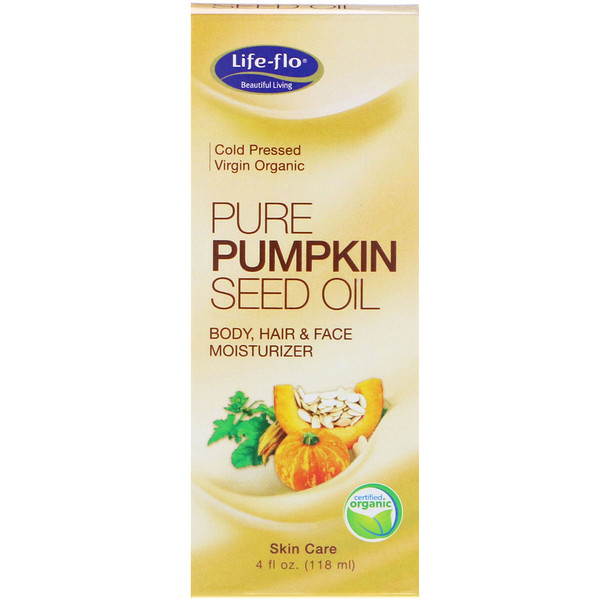 Life-flo, Pure Pumpkin Seed Oil, 4 fl oz (118 ml) (Discontinued Item)