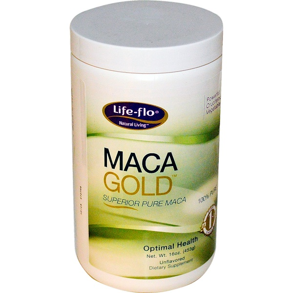 Life-flo, Maca Gold, Unflavored, 16 oz (453 g) (Discontinued Item)