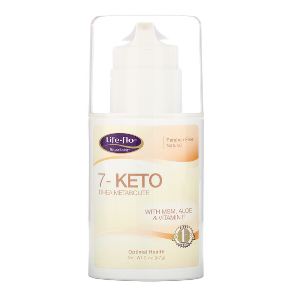Life-flo, 7-Keto、DHEA メタボライト、 2 オンス (57 g) (Discontinued Item)