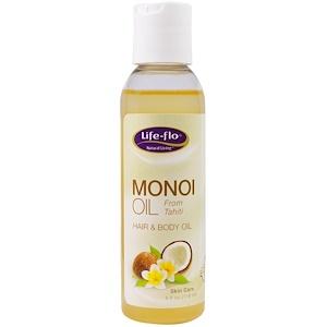 Лайф Фло Хэлс, Monoi Oil, Hair & Body Oil, 4 fl oz (118 ml) отзывы