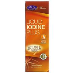 Life-flo, 液體液體碘+,2 盎司(59 毫升)