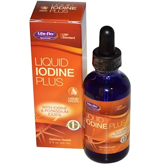 Life Flo Health, Liquid Iodine Plus, 2 fl oz (59 ml)