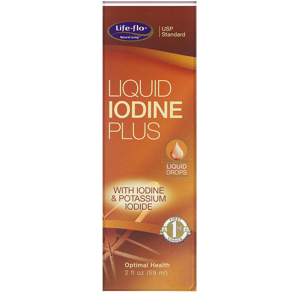 Yodo Líquido Plus, 2 fl oz (59 ml)