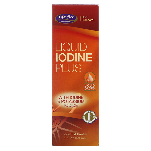 Liquid Iodine Plus, 2 fl oz (59 ml)