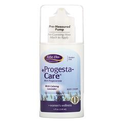 Life-flo, progesta身體護膚霜,含舒緩薰衣花草,4盎司