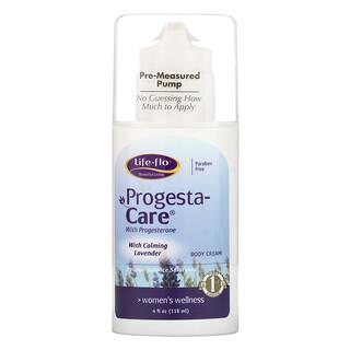 Life-flo, Progesta-Care Body Cream, with Calming Lavender, 4 oz (113.4 g)