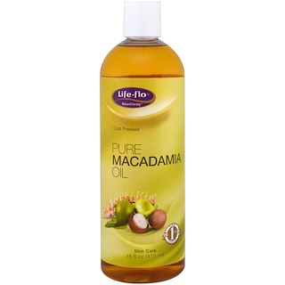 Life Flo Health, Pure Macadamia Oil, 16 fl oz (473 ml)