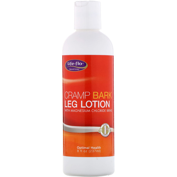 Cramp Bark Leg Lotion, with Magnesium Chloride Brine, 8 fl oz (237 ml)