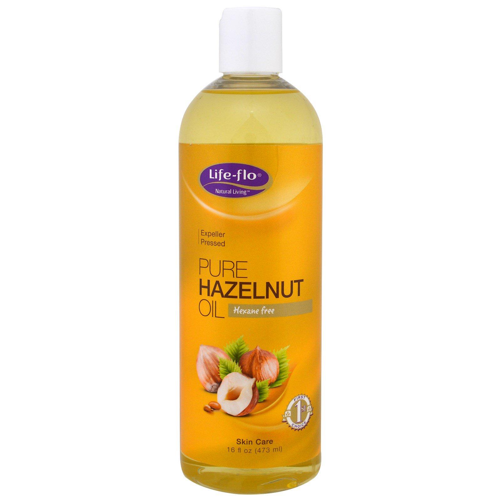 Life Flo Health, Чистое масло фундука, 16 унций (473 мл)