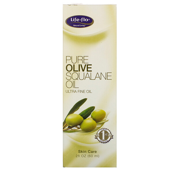 Pure Olive Squalane Oil, 2 fl oz (60 ml)