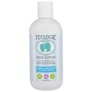 Logic Products, TotLogic, Body Lotion, Original Scent, 8 fl oz (236 ml)