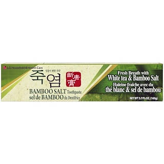 LG Household & Health Care, Bamboo Salt Toothpaste, 5.7 fl oz (160 g)