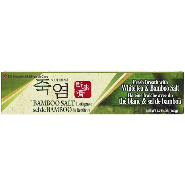 LG Household & Health Care, 竹鹽牙膏,5、7液量盎司(160克)