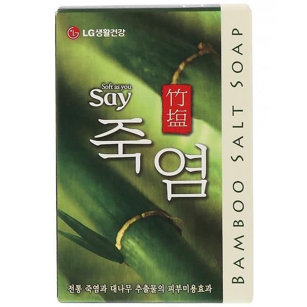 LG Household & Health Care, 竹鹽肥皂,100克