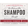 J.R. Liggett's, Old Fashioned Shampoo Bar, Original Formula, 3.5 oz (99 g)