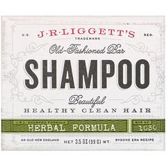 J.R. Liggett's, 老式洗髮皂,草本配方,3.5 盎司(99 克)