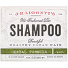 J.R. Liggett's, Old Fashioned Shampoo Bar, Herbal Formula, 3.5 oz (99 g)