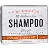 J.R. Liggett's, Shampoo Sólido Old Fashion Bar, Coco e Óleo de Argan, 3.5 oz (99 g)