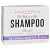 J.R. Liggett's, Old Fashioned Bar Shampoo, Tea Tree & Hemp Oil, 3.5 oz (99 g)
