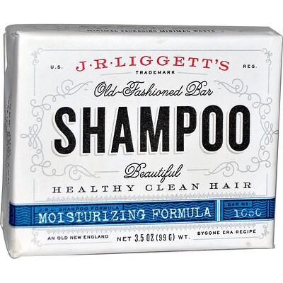 Шампунь-мыло по старинному рецепту, формула для поврежденных волос, 3.5 унции (99 г) глицериновое крем мыло миндальное 12 кусков по 3 5 унции 100 г