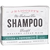 J.R. Liggett's, Old Fashioned Bar Shampoo, Jojoba & Peppermint, 3.5 oz (99 g)