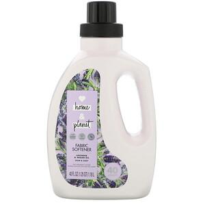 Love Home & Planet, Fabric Softener, Lavender & Argan Oil, 40 fl oz (1.18 l) отзывы