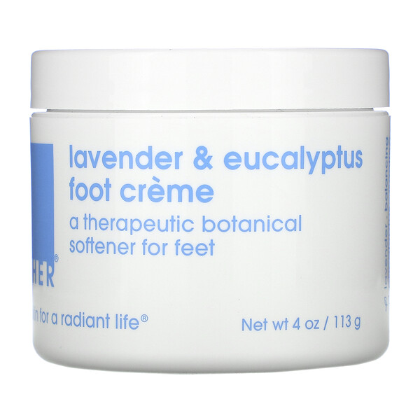 Lather, Lavender & Eucalyptus Foot Creme, 4 oz (113 g)
