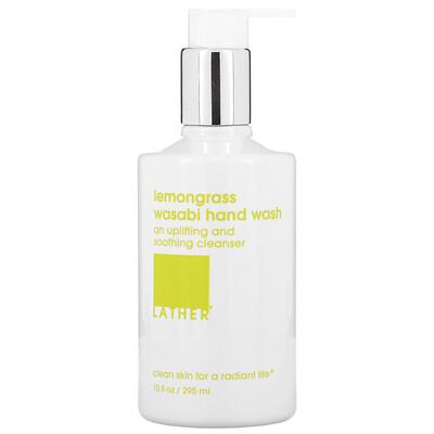 Купить Lather Lemongrass Wasabi Hand Wash, 10 fl oz (295 ml)