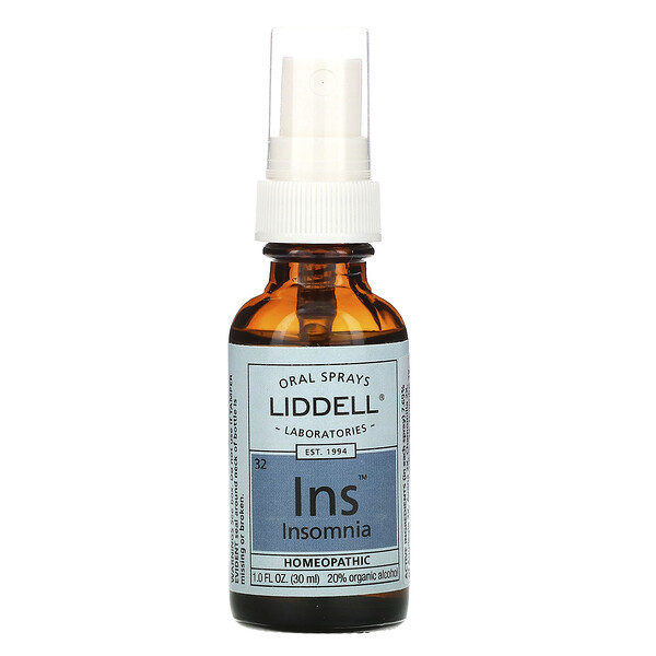 Liddell, Insomnies, spray oral, 30 ml (Discontinued Item)