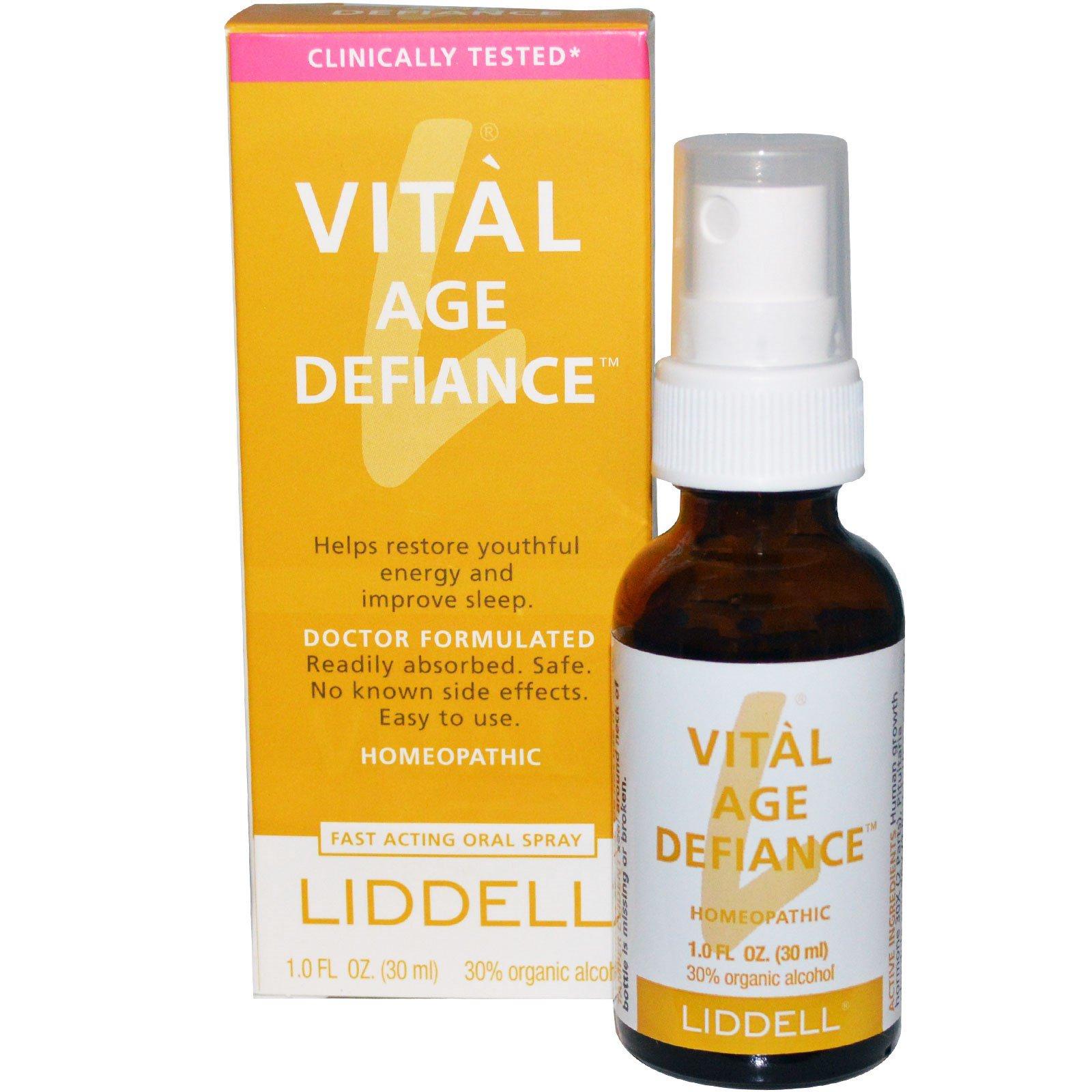 Liddell Vital Age Defiance Oral Spray 1 0 Fl Oz 30 Ml Iherb