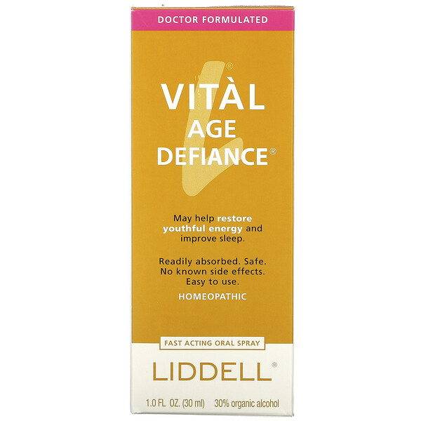 Liddell, Vital Age Defiance, Fast Acting Oral Spray, 1.0 fl oz (30 ml)