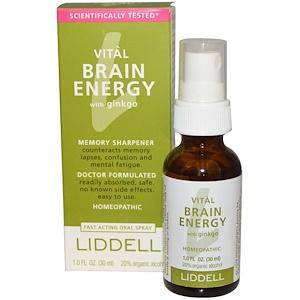 Лиддэлль, Vital Brain Energy, with Ginkgo, 1.0 fl oz (30 ml) отзывы