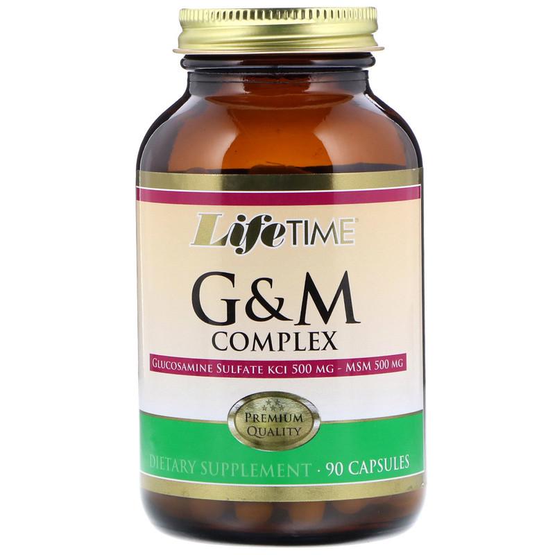 LifeTime Vitamins, Glucosamine & MSM Complex, 90 Capsules