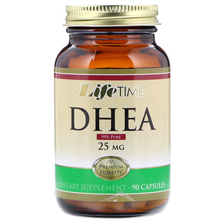 Life Time, DHEA, 25 mg, 90 Capsules