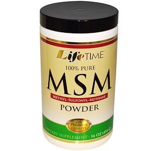 Лайф Тайм, MSM Powder, 16 oz (454 g) отзывы
