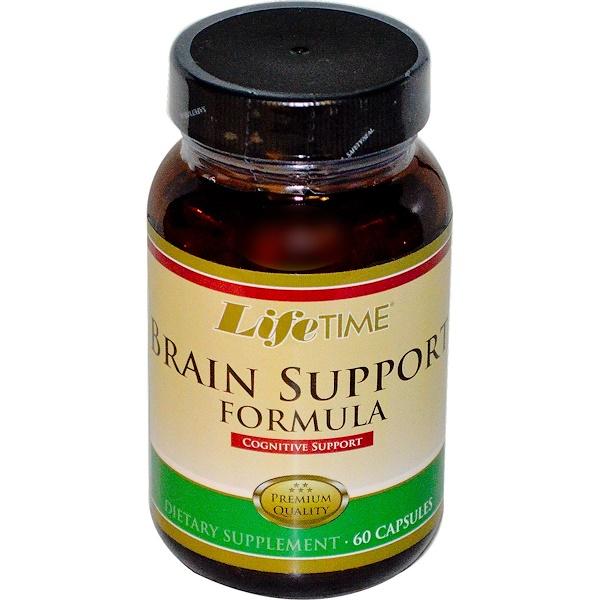 LifeTime Vitamins, Brain Support Formula, 60 Capsules (Discontinued Item)