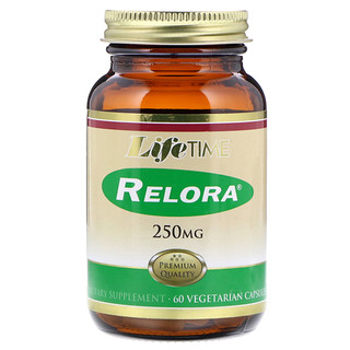LifeTime Vitamins, Relora, 250 mg, 60 Vegetarian Capsules